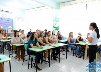 PRIMEIRA REUNIÃO DE PAIS E EQUIPE PEDAGÓGICA 2019
